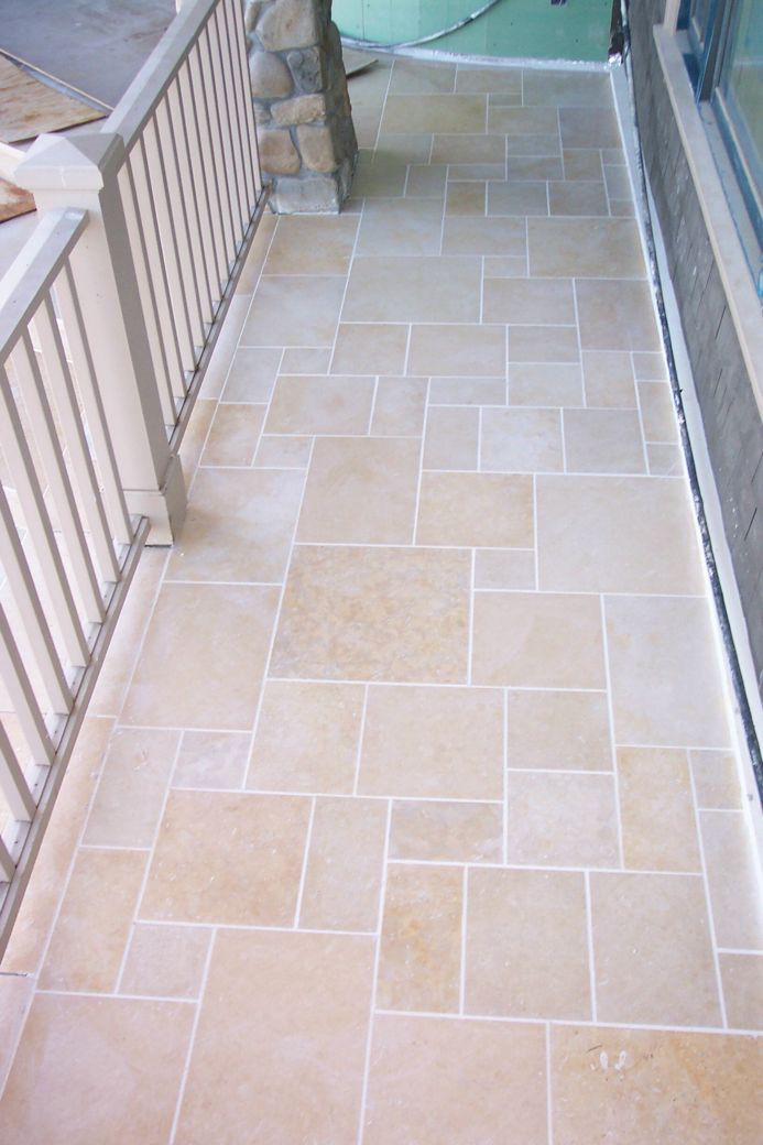 Jerusalem Gold Limestone Paving