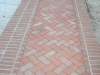 Old Carolina Brick Border and Field Paving