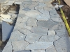 Work in Progress - Gabricated Quartz Paving Ready for Install