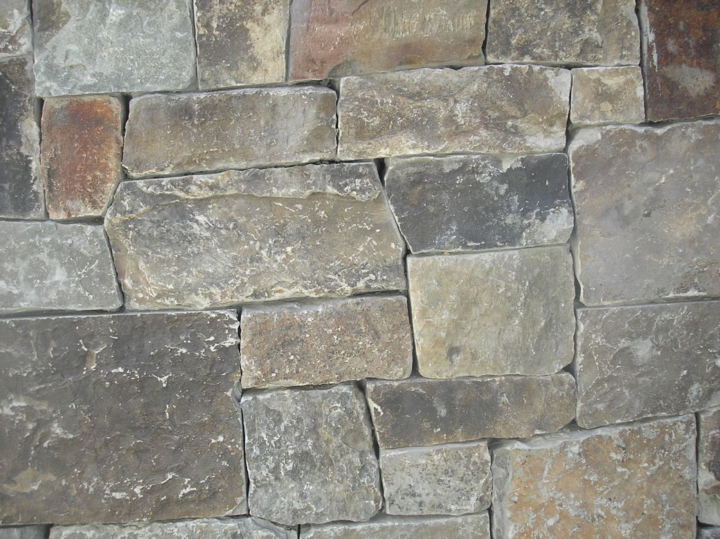 Rubble stone for Brick or stone veneer