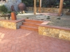 Italian Terracota Paving and Steps